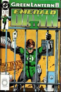 Green Lantern: Emerald Dawn II #1, NM- (Stock photo)