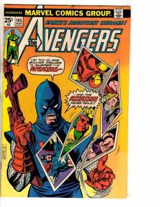 3 Avengers Marvel Comic Books # 145 146 147 FN Range Thor Hulk Iron Man J272