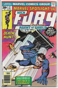 Marvel Spotlight   vol. 1   #31 GD/VG Nick Fury