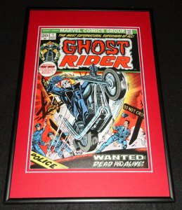 Ghost Rider #1 Framed 12x18 Cover Photo Poster Display Official Repro