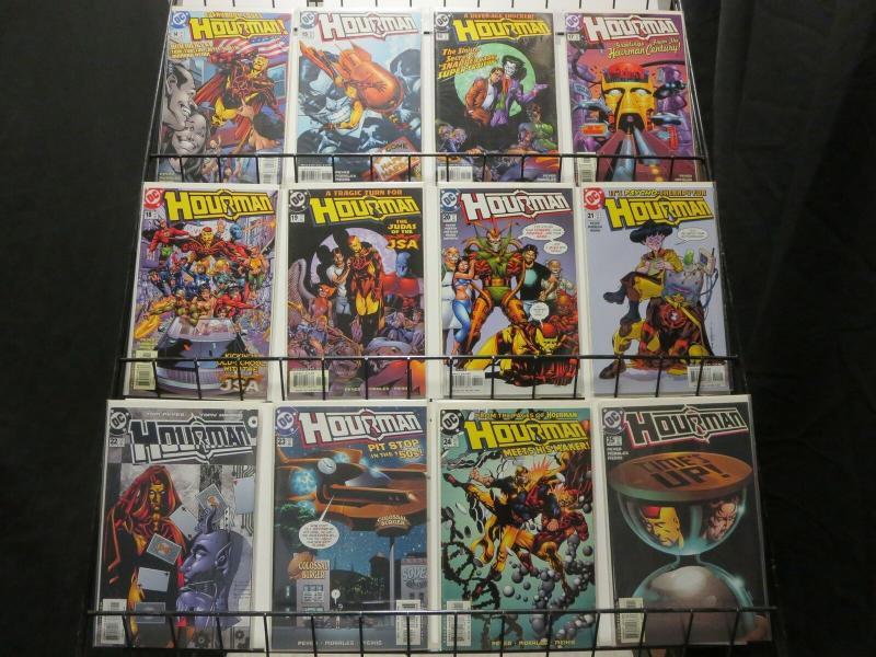 HOURMAN (1999) 14-25  JLA spinoff SNAPPER CARR! COMICS BOOK