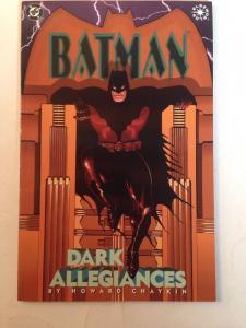 Batman Dark Allegiances Howard Chaykin Near Mint Elseworlds