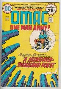 OMAC #3 (Feb-75) NM- High-Grade OMAC