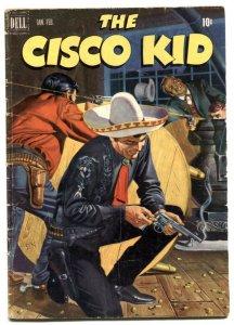 Cisco Kid #7 1952 -Dell Golden Age Western G/VG