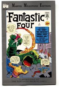 MARVEL MILESTONE EDITION: Fantastic Four #1 comic book 1991 -1ST appearance