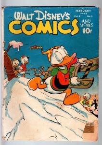 WALT DISNEY'S COMICS AND STORIES #89-1948-DONALD DUCK-MICKEY MOUSE-C BARKS-G G