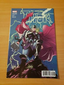 The Unworthy Thor #3 Variant Cover ~ NEAR MINT NM ~ (2017, Marvel Comics)