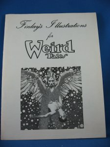 FINLAYS ILLUSTRATIONS FOR WEIRD TALES Fine 1976 Portfolio  Pulps