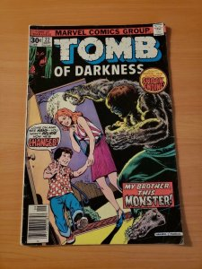 Tomb of Darkness #22 ~ FINE FN ~ (1976, Marvel Comics)