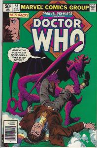 MARVEL PREMIERE #58,59,60  DR WHO FN/VFN $8.00