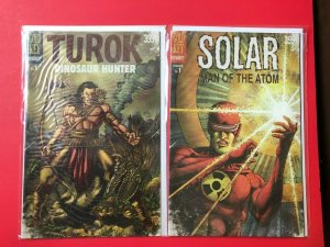 TUROK #1 / SOLAR MAN OF THE ATOM #1, /DYNAMITE / HIGH QUALITY