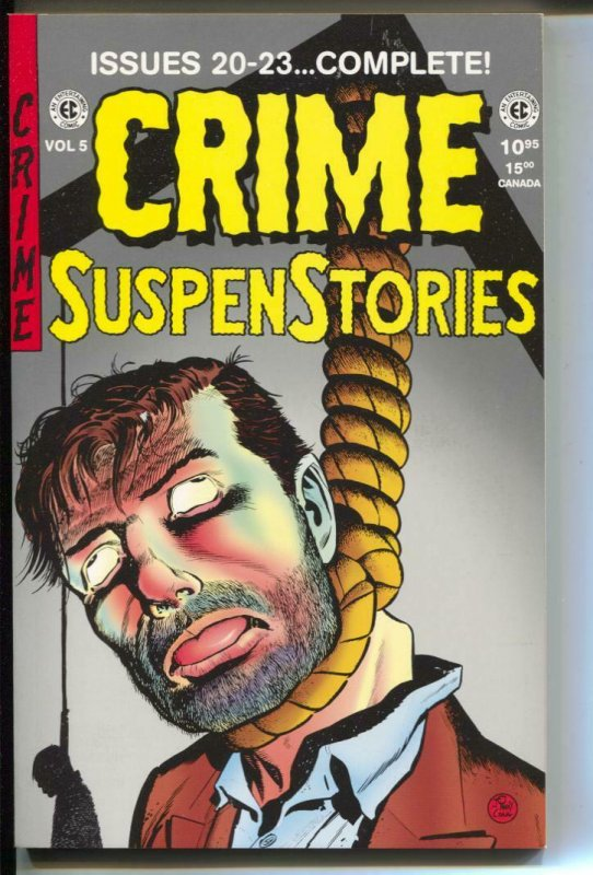 Crime Suspenstories Annual-#5-Issues 20-23-TPB- trade