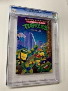 Teenage Mutant Ninja Turtles Trade Paperback 1 Cgc 9.4 Tundra Publishing