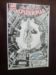 Amazing Spider-Man 3rd Series #1DCBSSKETCH - VF - 2014 - DCBS Variant