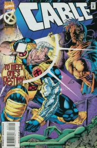 Cable #23 Deluxe VF/NM; Marvel | save on shipping - details inside