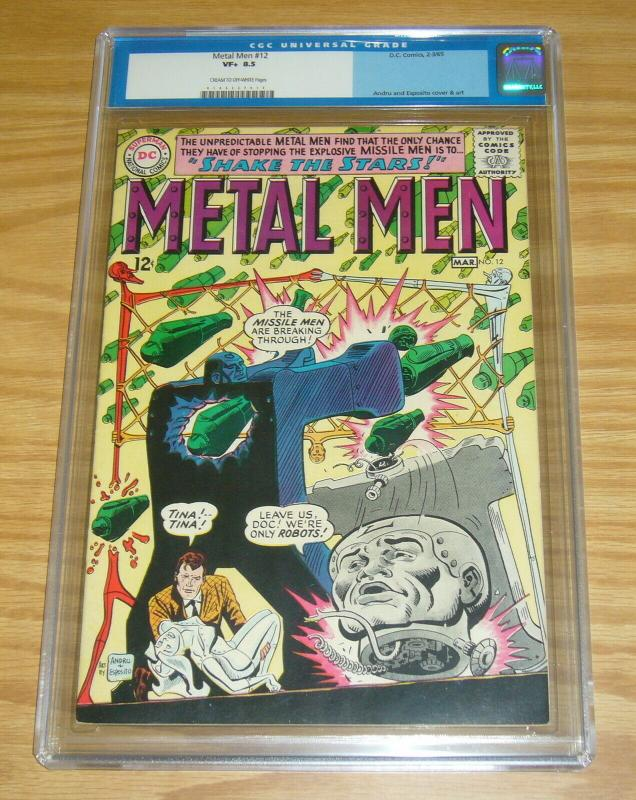 Metal Men #12 CGC 8.5 silver age dc comics - ross andru - march 1965