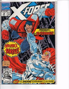 Marvel Comics X-Force Vol. 1 #10 Cable Cannonbal; Domino