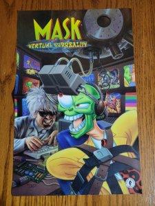 17 x 11 Mask Virtual Surreality Comic Book Promo Poster NO PIN HOLES NEW