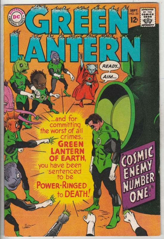 Green Lantern #55 (Sep-67) VF+ High-Grade Green Lantern
