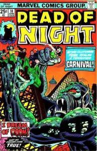 Dead of Night (1973 series) #10, VG- (Stock photo)