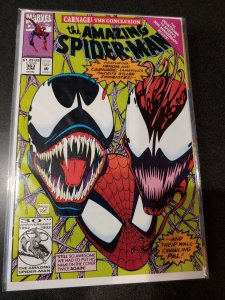 The amazing spider-man #363 VENOM CARNAGE