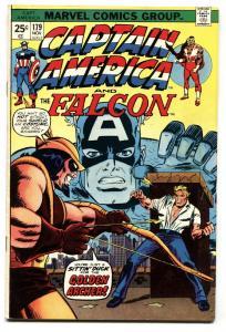 CAPTAIN AMERICA #179 Hawkeye issue comic book Marvel VF