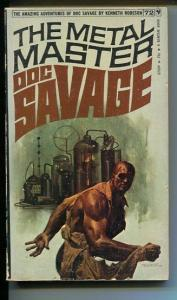 DOC SAVAGE-THE METAL MASTER-#72-ROBESON-VG-FRED PFEIFFER COVER VG