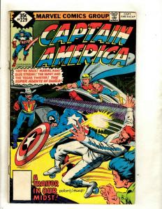 8 Captain America Marvel Comics 229 265 269 270 274 275 280 + Annual # 5 RM1