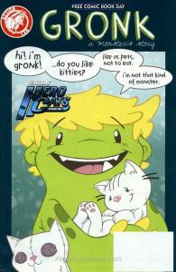 Gronk/Hero Cats FCBD #2015 VF/NM; Action Lab   save on shipping - details inside