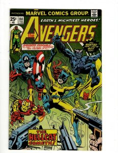 Avengers # 144 VF Marvel Comic Book 1st Appearance Patsy Hellcat Hulk Thor OF2