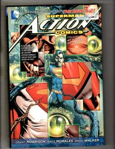 Superman Action Comics Vol. # 3 End DC Comics Graphic Novel Book HARDCOVER J346