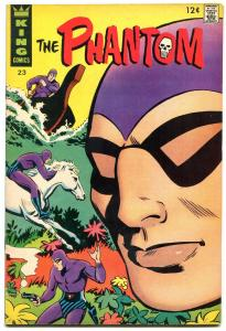 THE PHANTOM #23 1967-KING COMICS-HORSE COVER-ELUSIVE VF