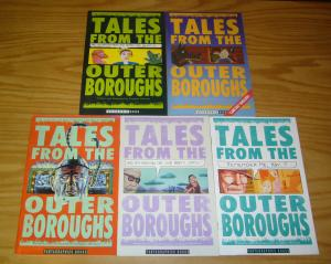 Tales From the Outer Boroughs #1-5 VF/NM complete series - douglas michael 2 3 4