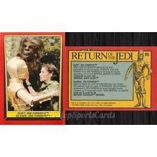 1983 Topps RETURN OF THE JEDI - QUIET, SEE-THREEPIO! #95