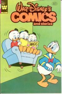 WALT DISNEYS COMICS & STORIES 503 VF 1982 COMICS BOOK