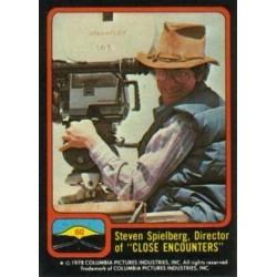 1978 Topps Close Encounters Of The Third Kind STEVEN SPIELBERG, DIRECTOR #60
