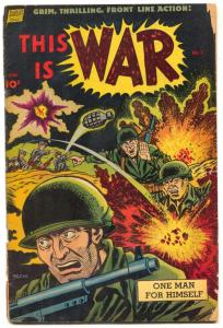 This Is War #7 1952-1-Korean War- Alex Toth G