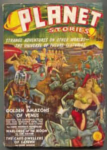 Planet Stories #1 1939- Fiction House Pulp- Amazons of Venus