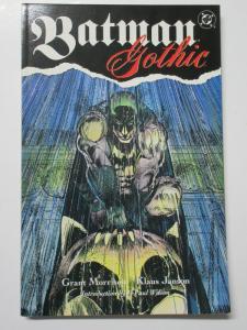 Batman Gothic (DC 1992) 1st Printing TPB by Grant Morrison Klaus Janson