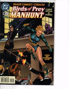 DC Comics Birds of Prey Manhunt #2 Catwoman Huntress Black Canary Oracle