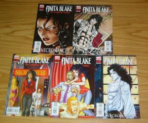 Anita Blake Vampire Hunter: the Laughing Corpse - Necromancer #1-5 VF/NM set