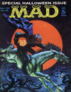 Mad #59 GD; E.C | low grade comic - save on shipping - details inside