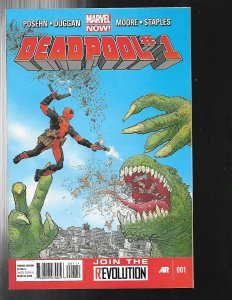 11 Marvel Comic Books Deadpool 1 2 3 Pulp 1 Max II 1 Killistrated and more J449