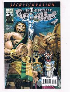 The Incredible Hercules #117 VF Marvel Comics Comic Book Pak 2008 DE46
