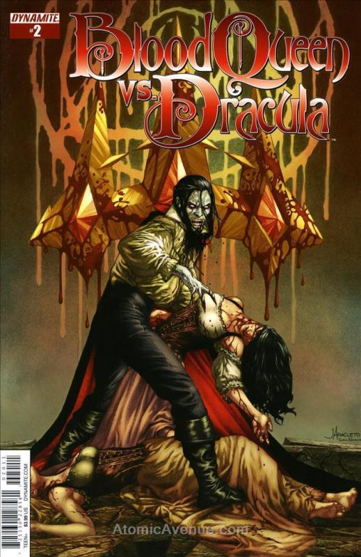 Blood Queen vs. Dracula #2A FN; Dynamite | save on shipping - details inside