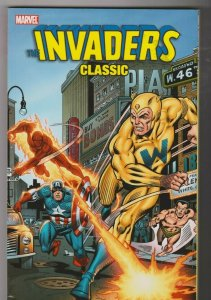 the INVADERS - CLASSIC VOL. 4 TRADE PAPERBACK  2010 MARVEL COMICS