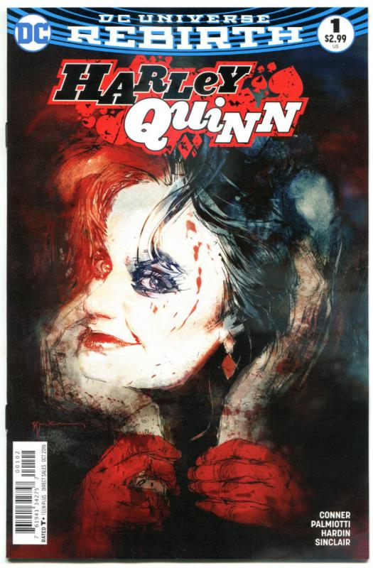 HARLEY QUINN #1, NM, Rebirth, Amanda Conner, Palmiotti, 2016, more HQ in store,V