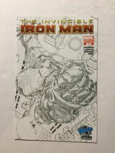 Iron Man 1 Variant The Invincible Nm Near Mint