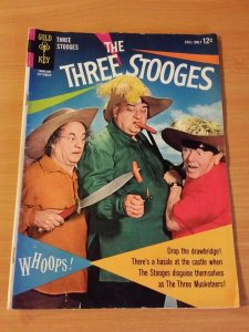 The Three Stooges #19 ~ FINE FN ~ (1964, Gold Key Comics)