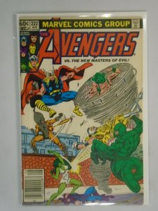 Avengers #222 Newsstand edition 4.0 VG (1982 1st Series)